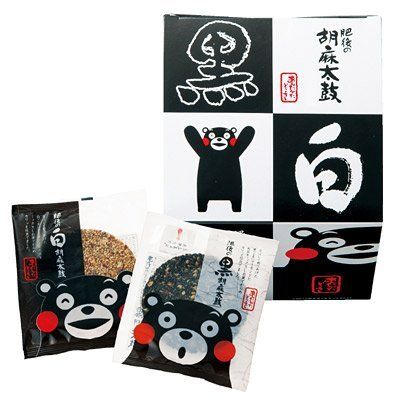Sesame senbei oh so cute Kumamon PD Asian Packaging pojangu - Bao Contemporaneo