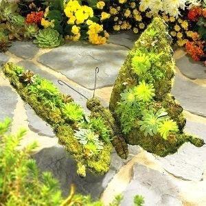 Butterfly With Moss Growth Garden Art 3d Metal Butterfly Garden Art Sculpture Http Www Ebay Com Itm Like 1310681329 Garten Gartenskulptur Garten Deko