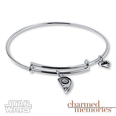Charmed Memories Star Wars R2-D2 Charmed Memories Sterling Silver Bracelet 3fFmwyeuG