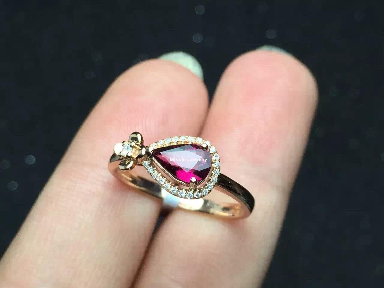 Tourmaline Engagement Ring | Engagement and Ring