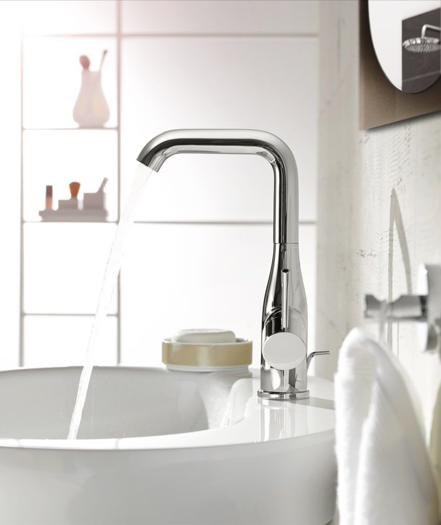 Grohe Essence New Moderne Badkamers Van Grohe Nederland Bv Modern Bathroom Faucets Faucet Basin Mixer