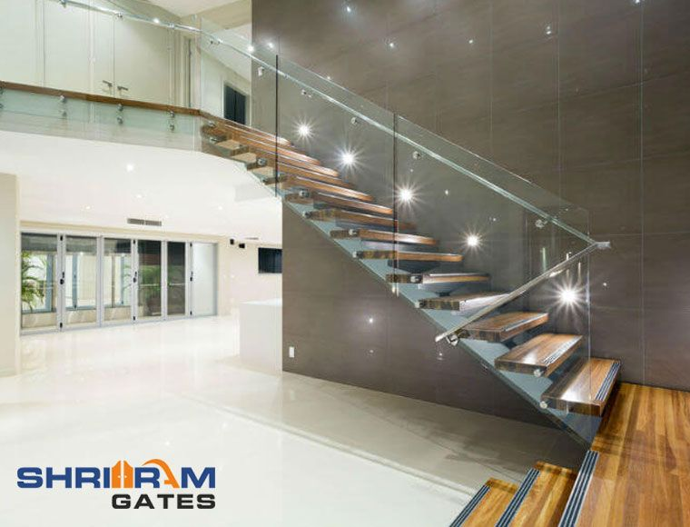 Stainless Steel Staircase Railing Stainless Steel Staircase Railing