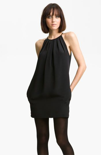'Hagen'  Contrast Pocket Dress / Jay Godfrey
