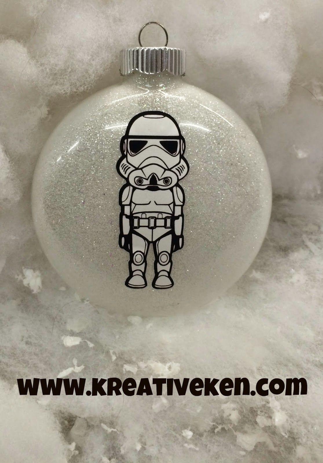 Ken S Kreations Star Wars Ornaments Star Wars Christmas Ornaments Star Wars Christmas Tree Diy Star Wars Gifts