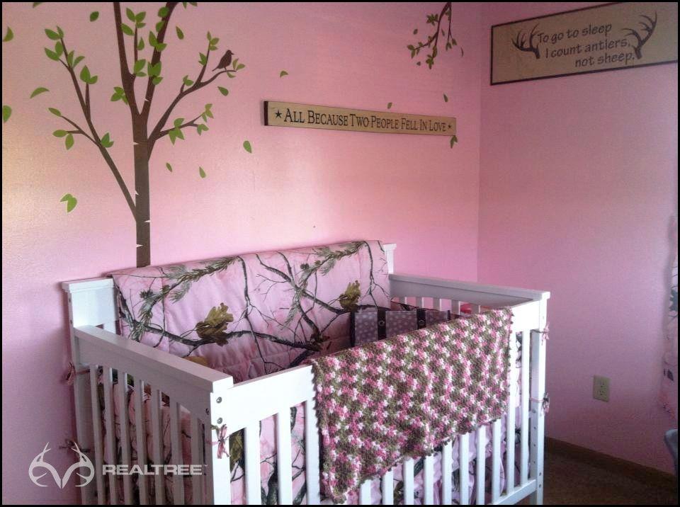 Lovely Realtree Pink Camo Nursery