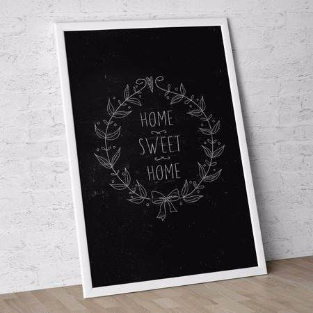 poster black sweet home