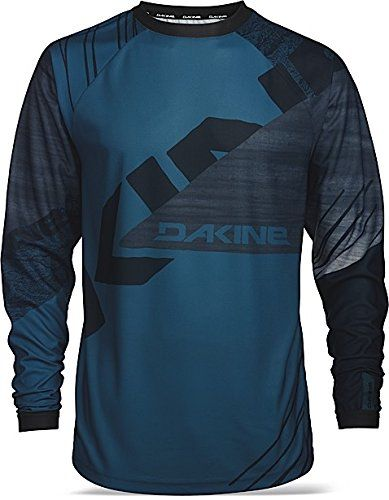 Dakine Mens 08555648 Thrillium Long Sleeve Cycling Jersey Moroccan S     Find out more about the great product at the image link. 0fa94cfbb