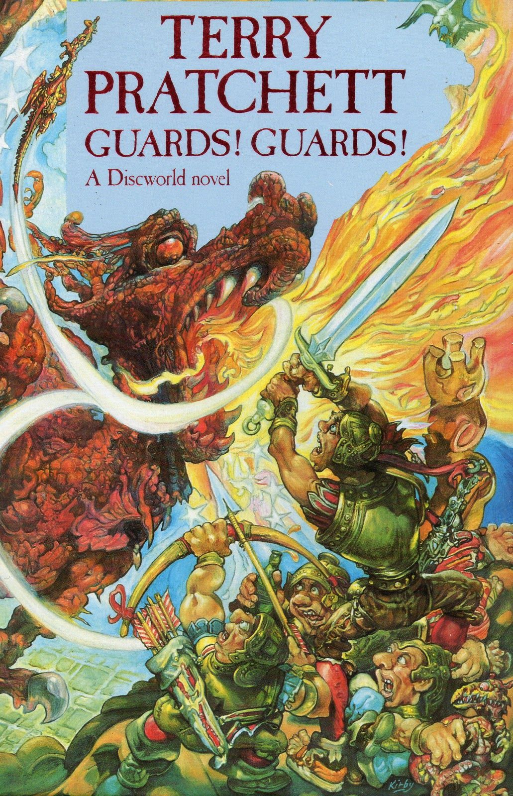 Guards Guards By Terry Pratchett Discworld Books Terry