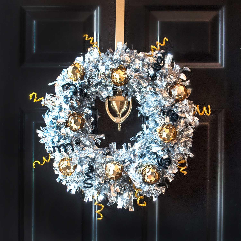 Value Seekers Club | New Year's Wreath | Wreaths, Deco ...