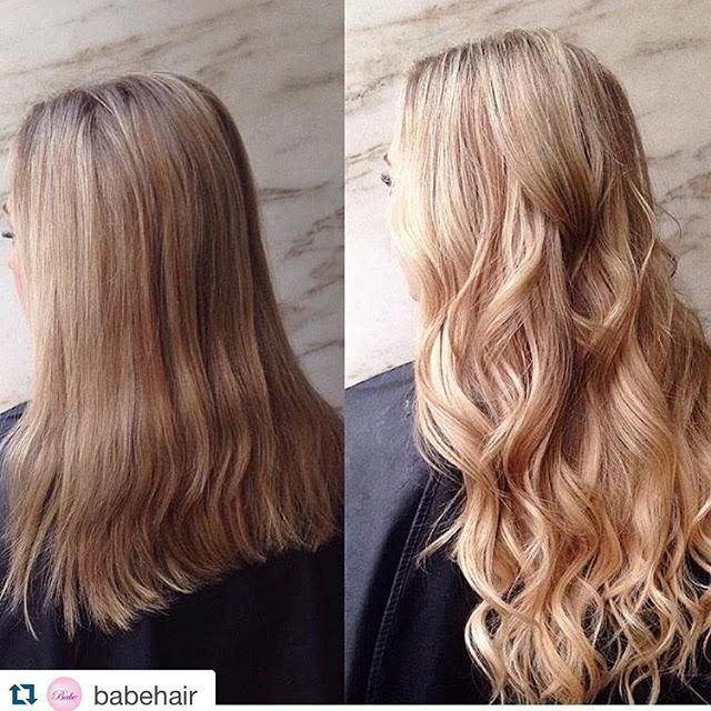 BEAUTIFUL Transformation Using 18 Babe Hair Tape In