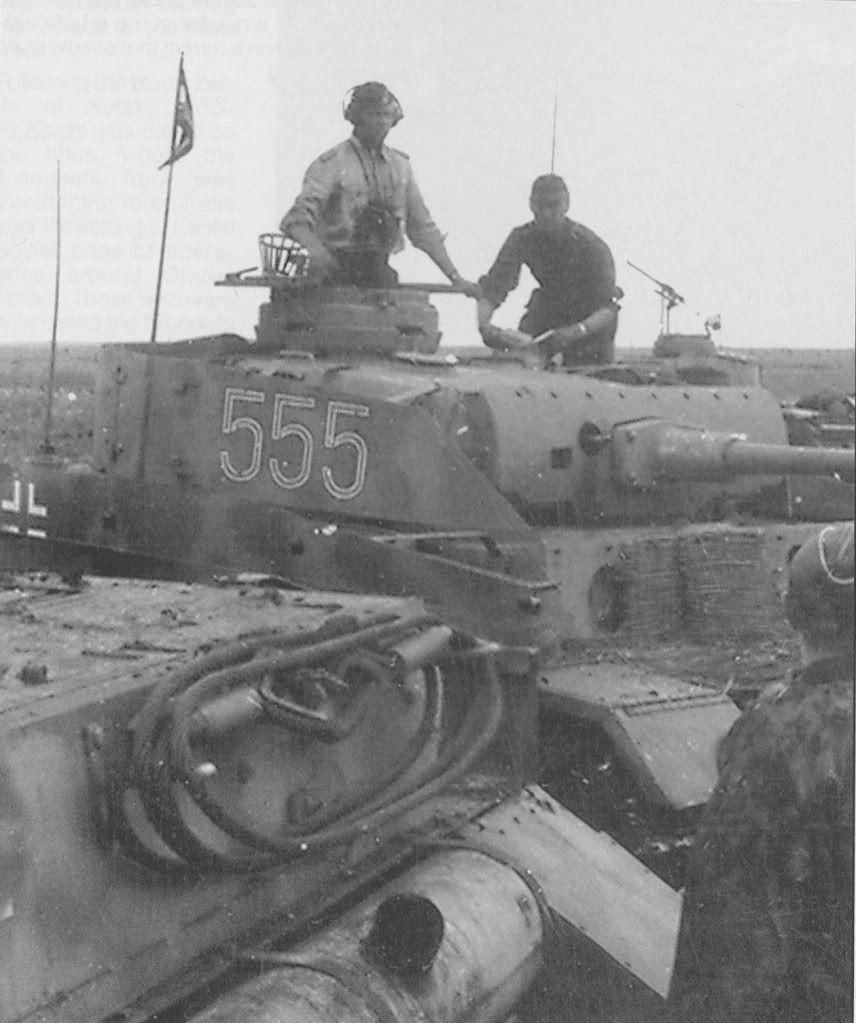 Pzkw III of Totenkopf Division