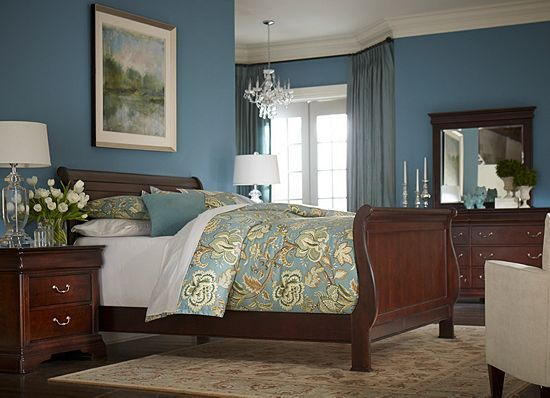 Bedroom Sets Havertys bedrooms, orleans king grand sleigh bed, bedrooms | havertys