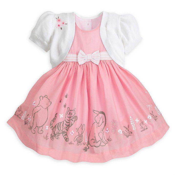 65b2c2746 Disney Baby Winnie The Pooh Party Dress Set | Baby Luna | Disney ...