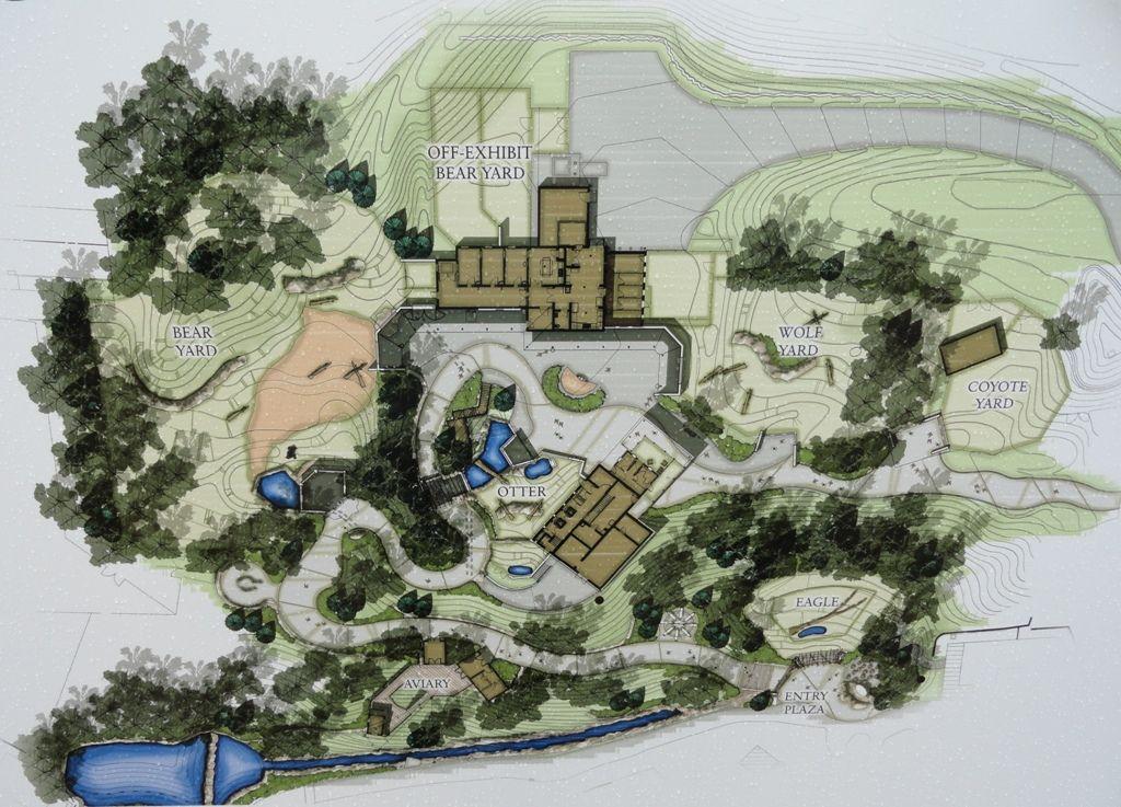 Akron Zoo Grizzly Ridge WDM Architects Zoo Design Pinterest