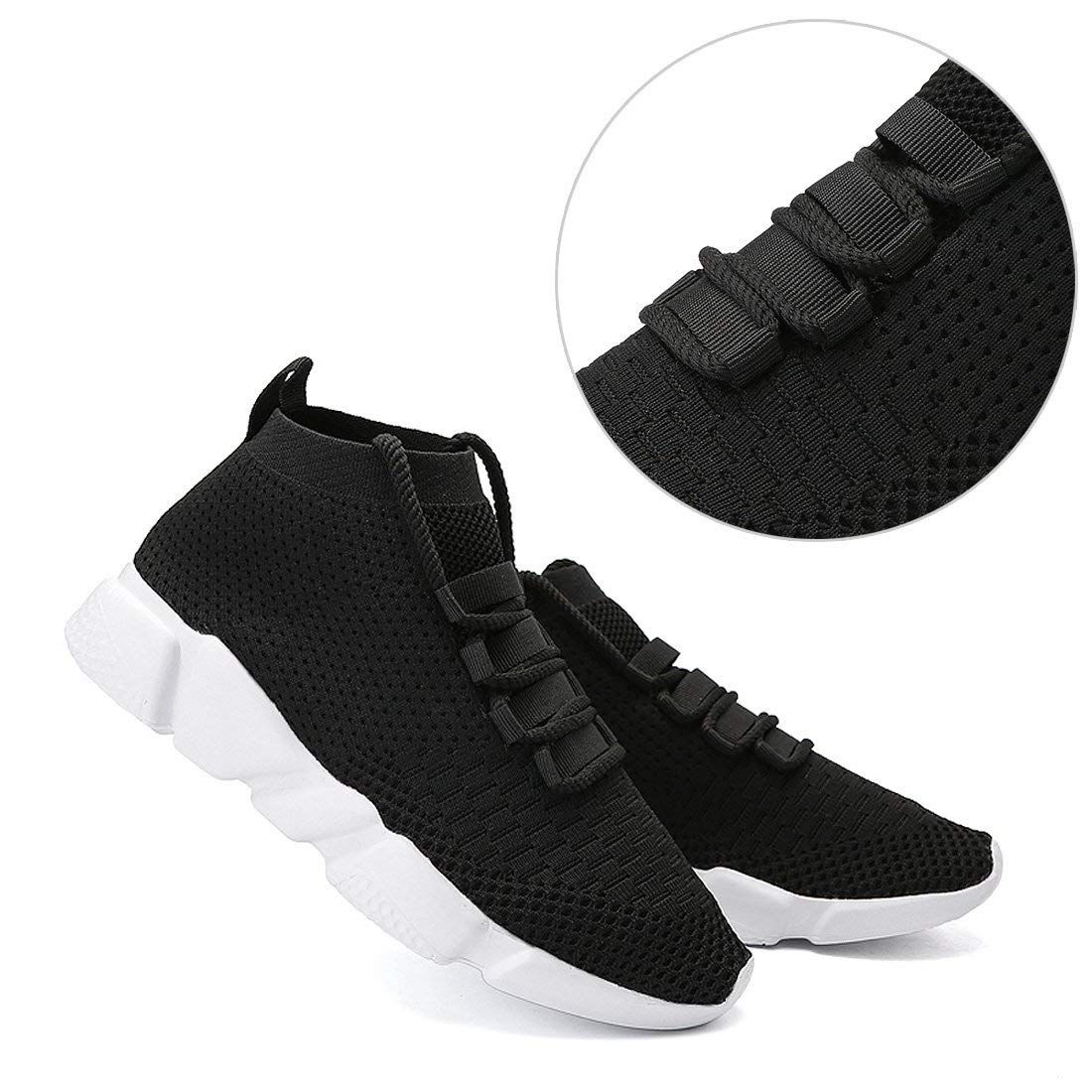 de3bfda472262 Amazon.com | Mevlzz Mens Casual Athletic Sneakers Knit Running Shoes ...