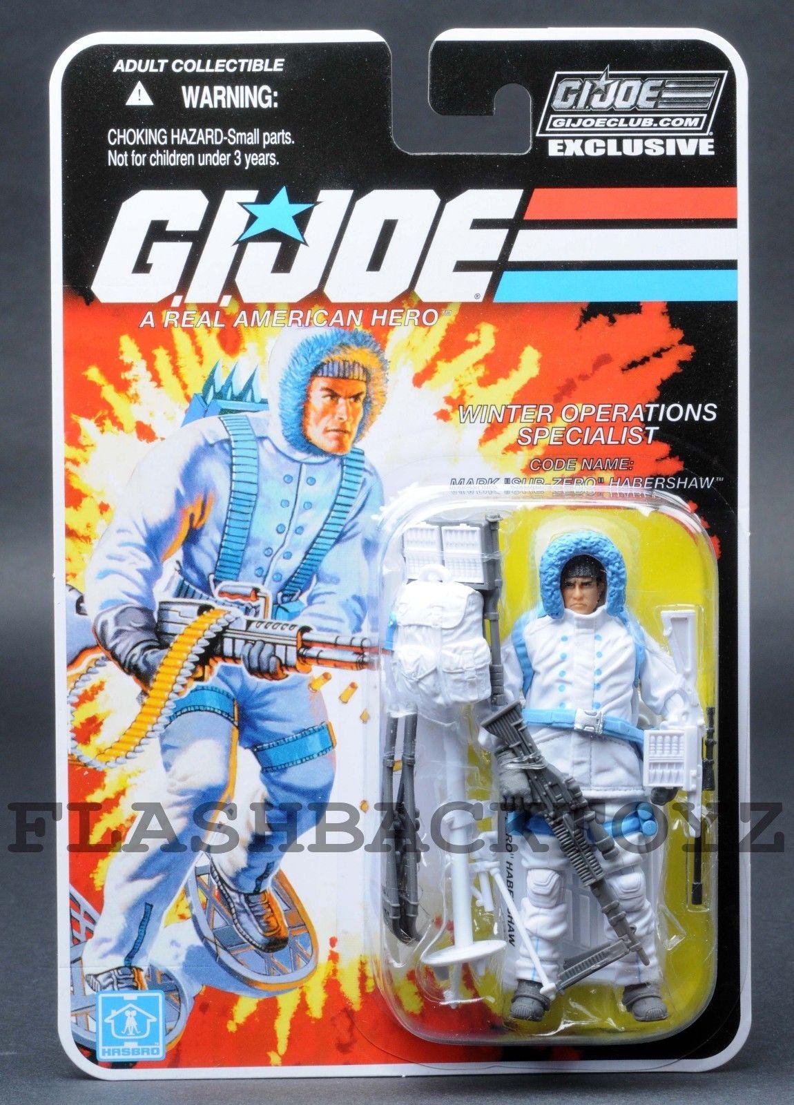 2017 GI Joe Dojo Ninja Commando Club Exclusive Subscription FSS 6.0 MOC