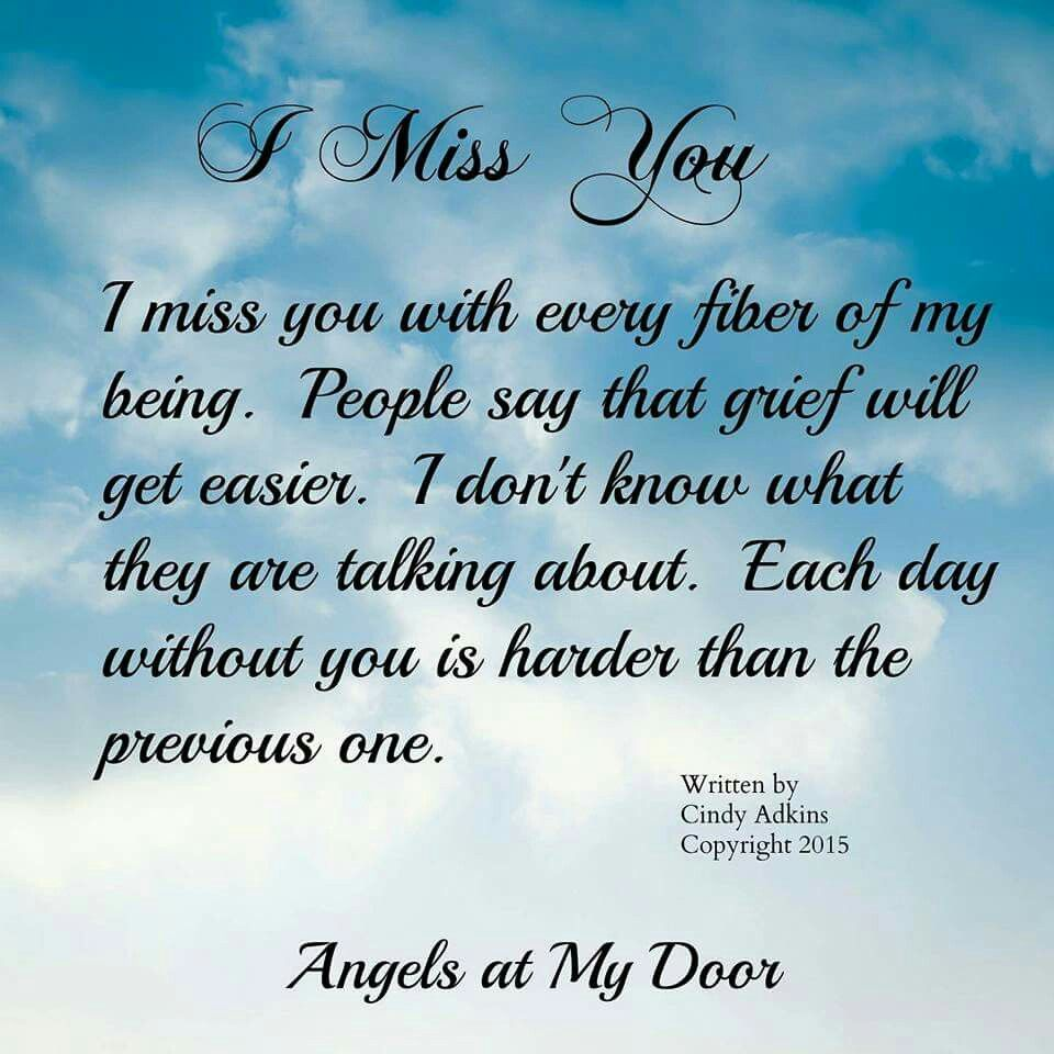 Miss My Mom, Miss You