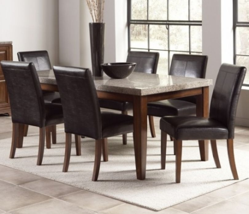 Furniture Dining Room Furniture Top Dining Table Square Granite Top