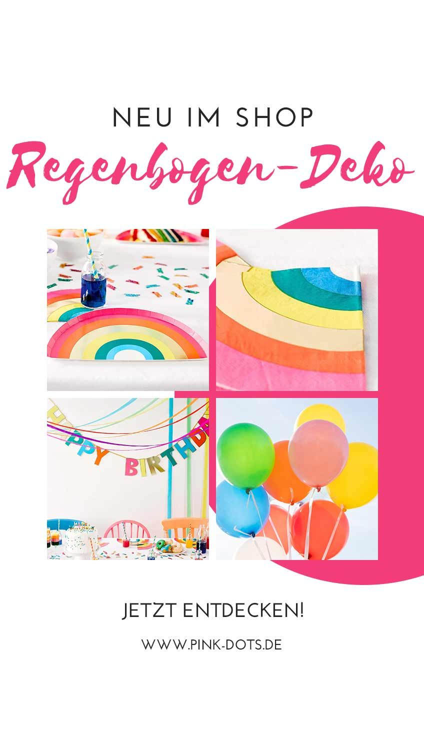 Es Ist Regenbogen Zeit Ob Pride Party Geburtstag Oder Mottoparty
