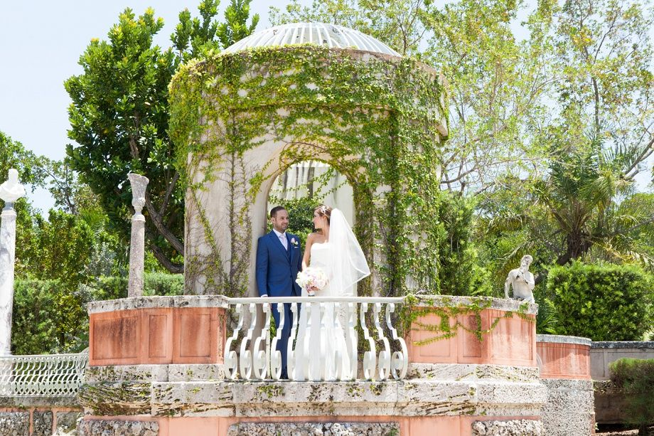 Intimate Garden Wedding Ceremony In Miami By Small Weddings Venue Arrangements Photography