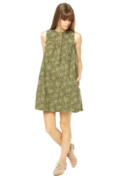 Vestido TOPSHOP Verde - Compre Agora   Dafiti Brasil