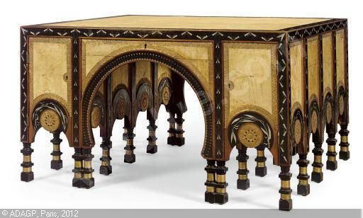 DOUBLE-SIDED DESK sold by Christie's, New York, on Monday, November 12, 2007