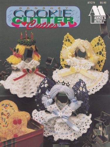 Cookie Cutter Cuties Annies Attic Crochet Pattern Booklet 87c79