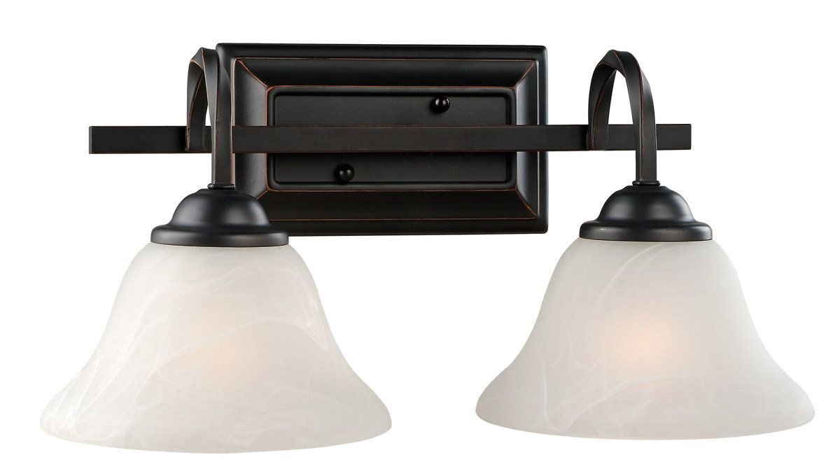 Oil Rubbed Bronze Bathroom Vanity Ceiling Lights: View The Design House 514919 Drake Rustic 2 Light Down