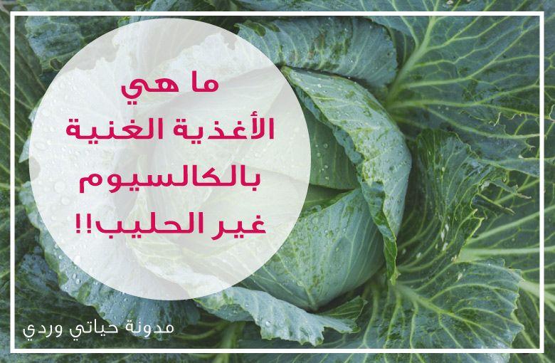 الاغذية الغنية بالكالسيوم من المصادر النباتية بعيدا عن الحليب Calcium Rich Foods Health Vegetables