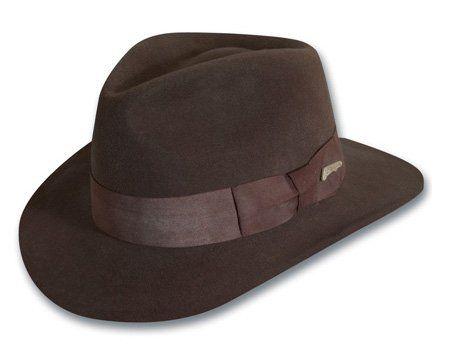 df927760c05b8 Indiana Jones Men s Water Repellent Wool Felt Fedora