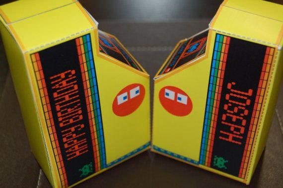 Personalized PRINTABLE Retro Arcade Machine Party Favor ...