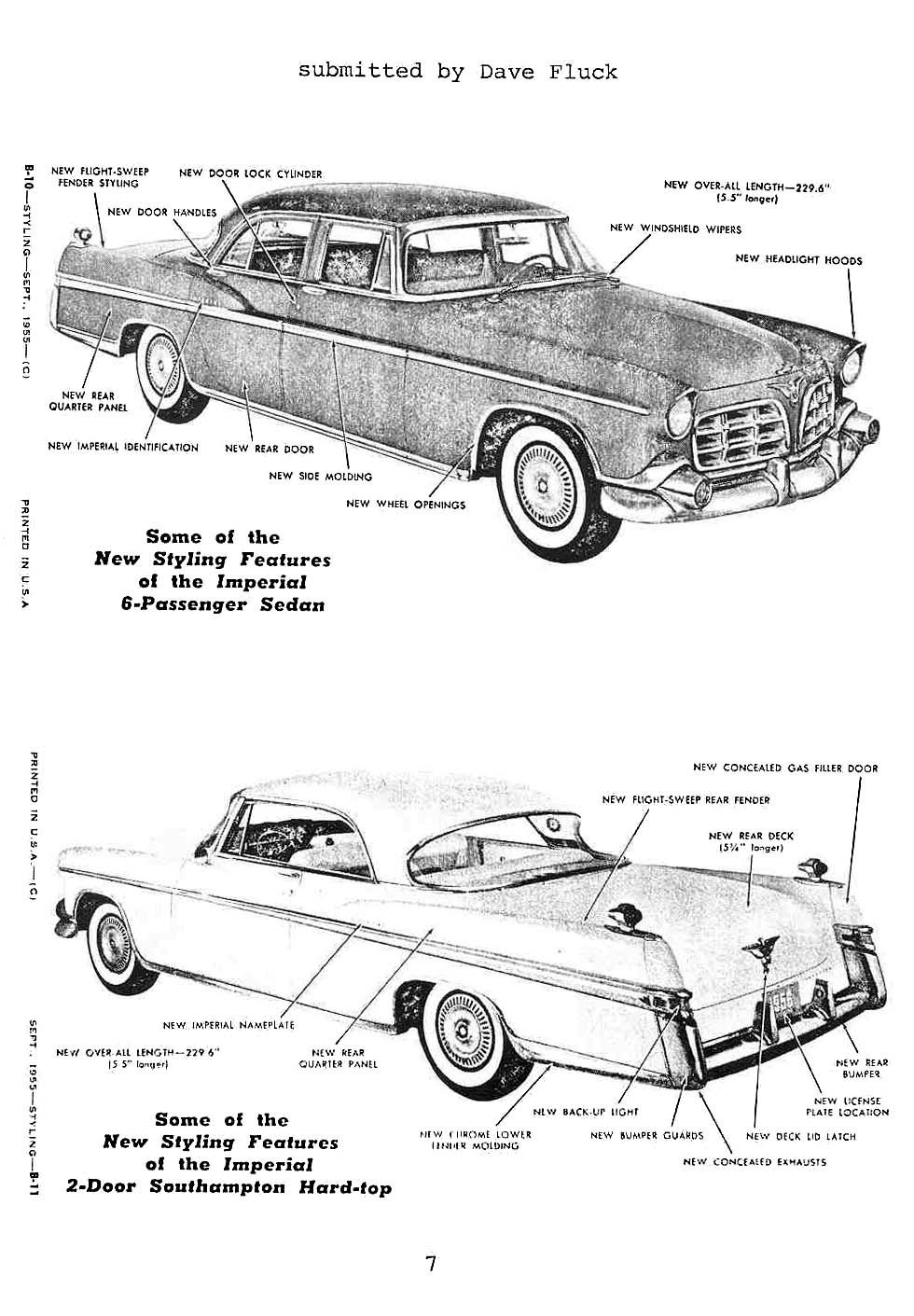 1956 Imperial National Chrysler Products Club Article Imperial Chrysler Imperial Car Drawings