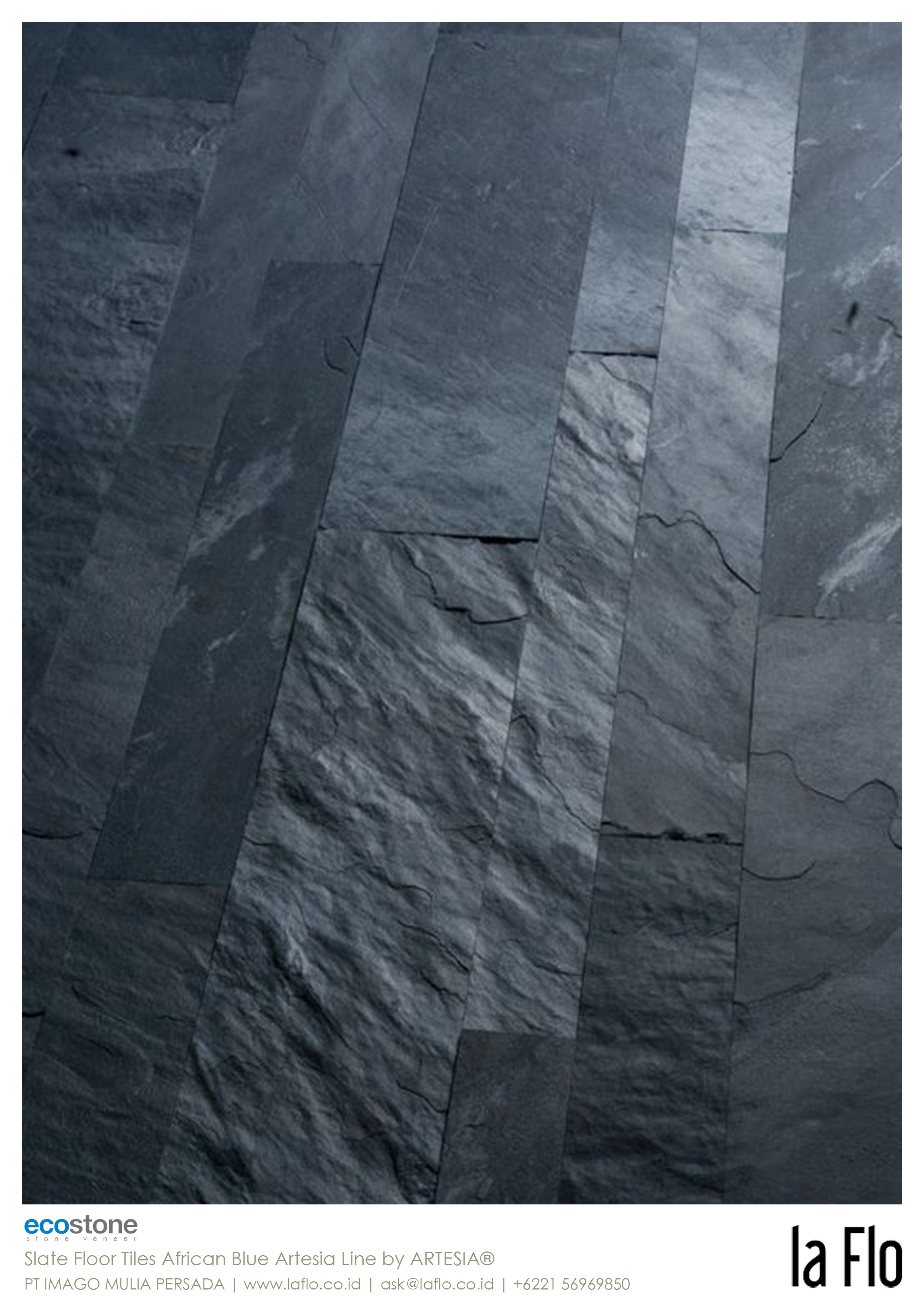 African tiles bathroom - Design Idea Floor Tiles Stoneveneer At Slate Floor Tiles African Blue Artesia Line