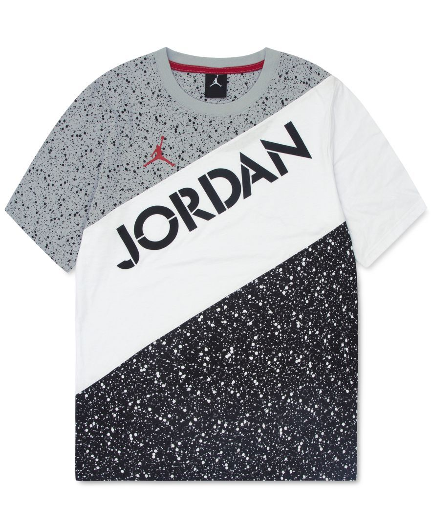 36f64aaa Jordan Boys' Air Jordan Speckle-Print T-Shirt | t-shirt in 2019 ...