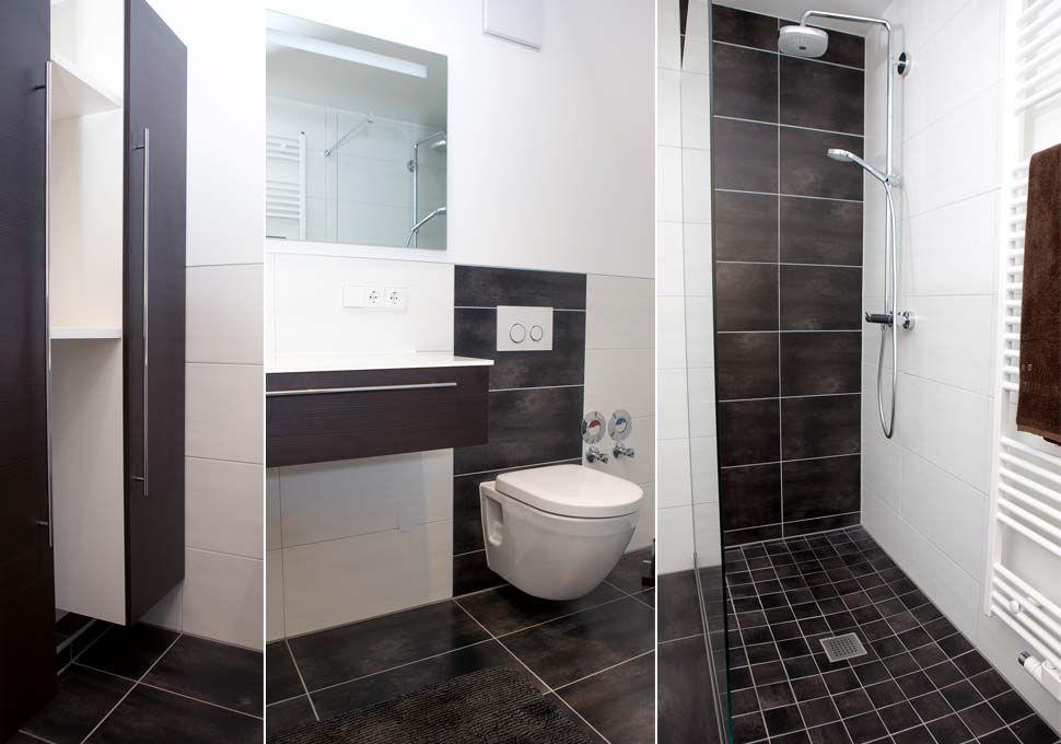 Badezimmer sandfarben gestaltet von Bäderbauer Schramm