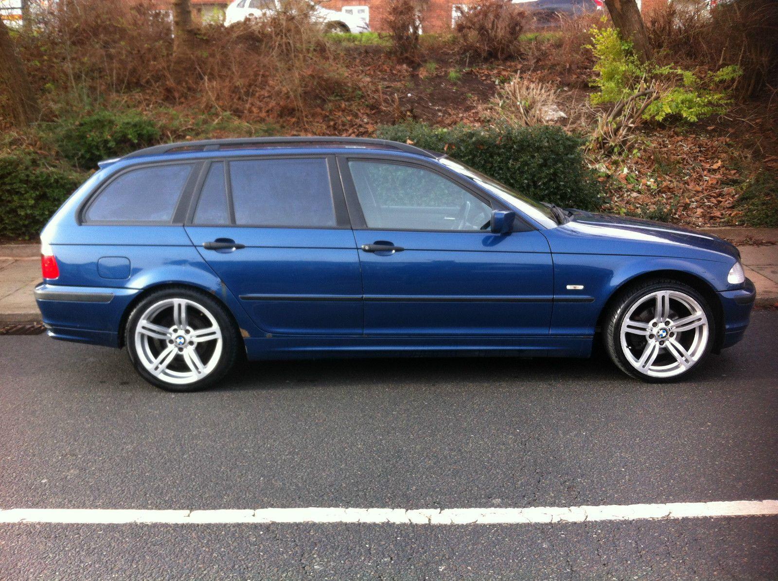 BMW 320 D SE TOURING BLUE estate private plate alloys MOT til NOV drives lovely | eBay