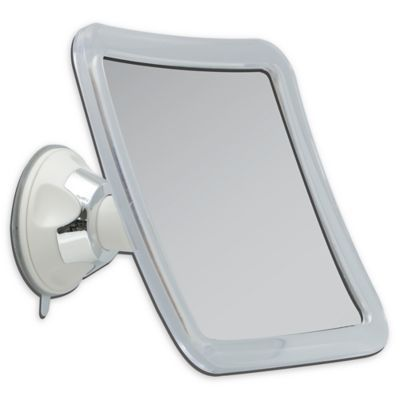 Square 10x Suction Mirror Mirror Magnifying Mirror Chrome