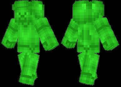 Emerald Steve Minecraft Skins Minecraft Emerald