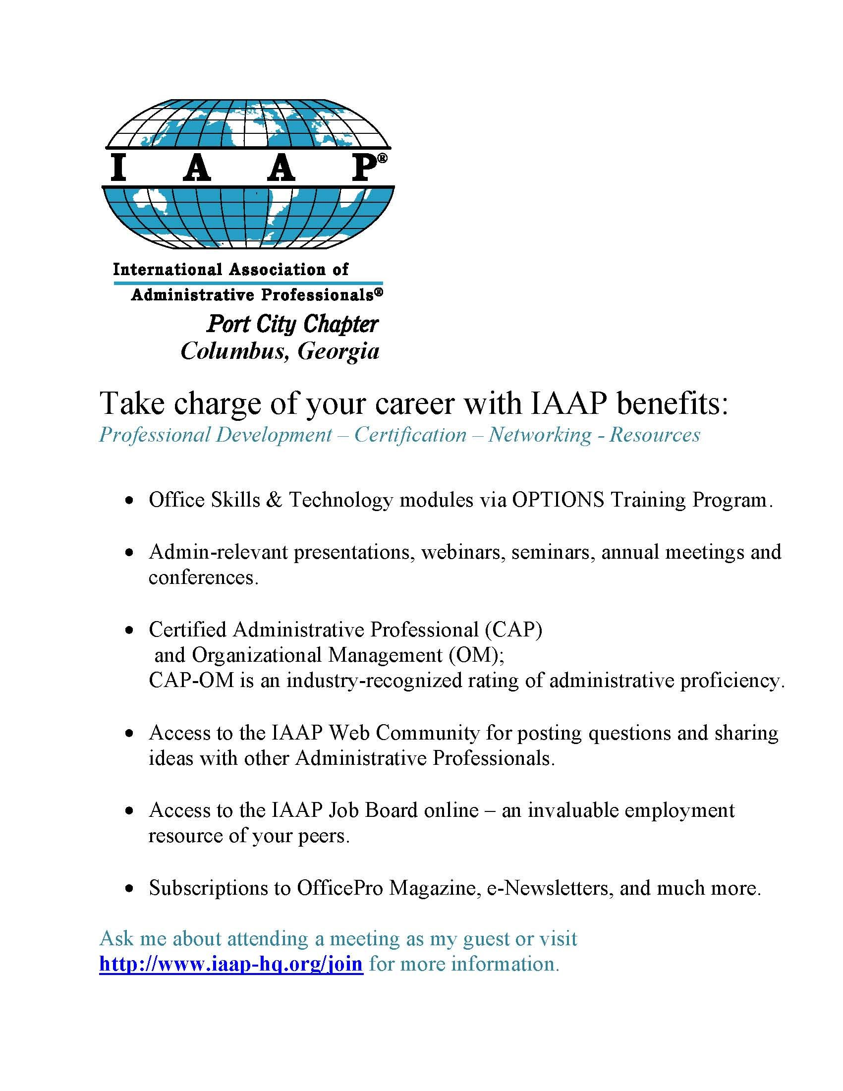 take charge of your career with iaap iaap pinterest career