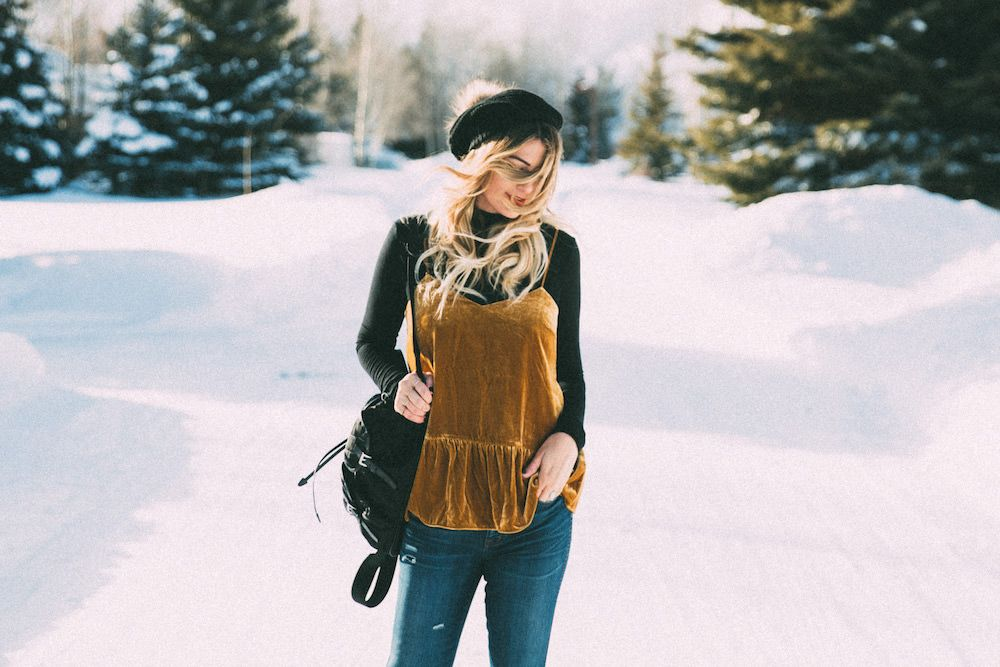 Winter Date Night Outfit in Jackson Hole 1c9306af4