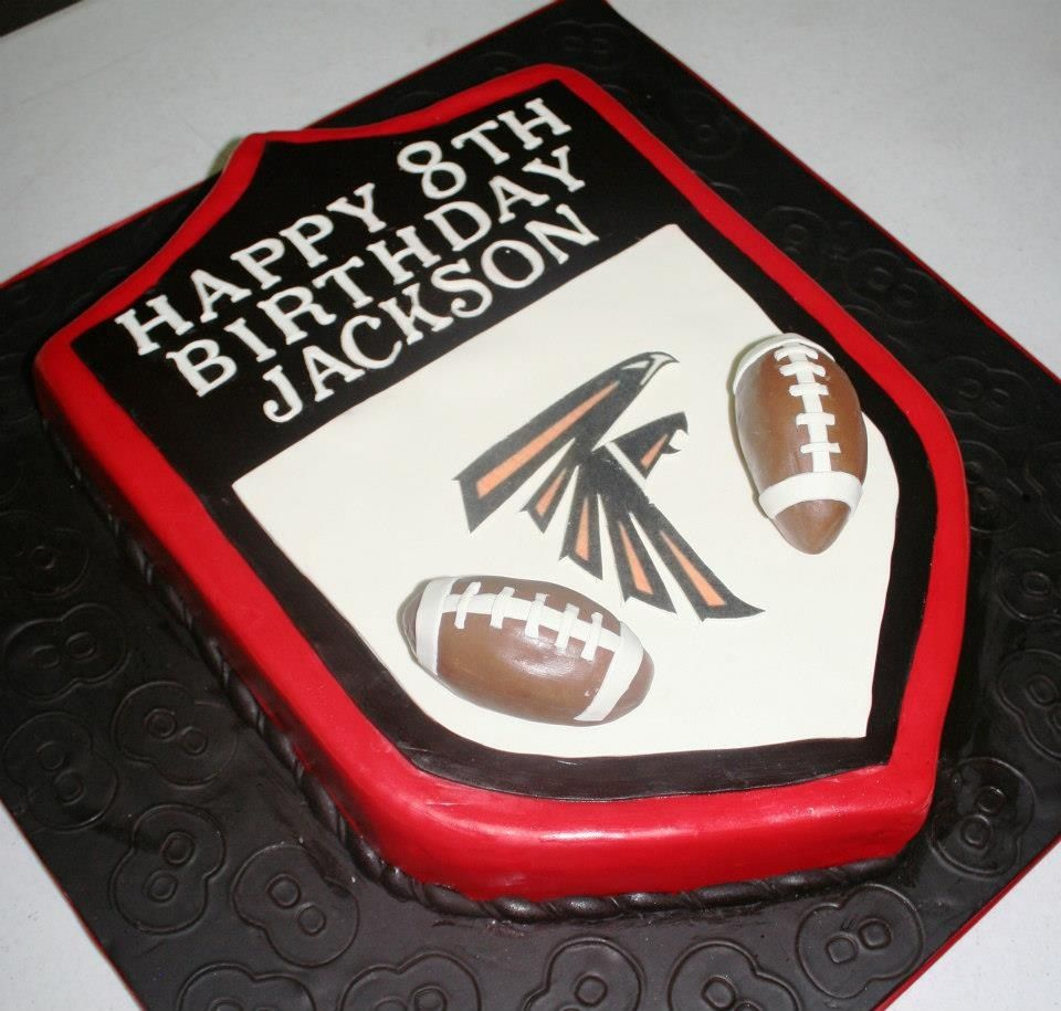 And Atlanta Falcons Themed Cake