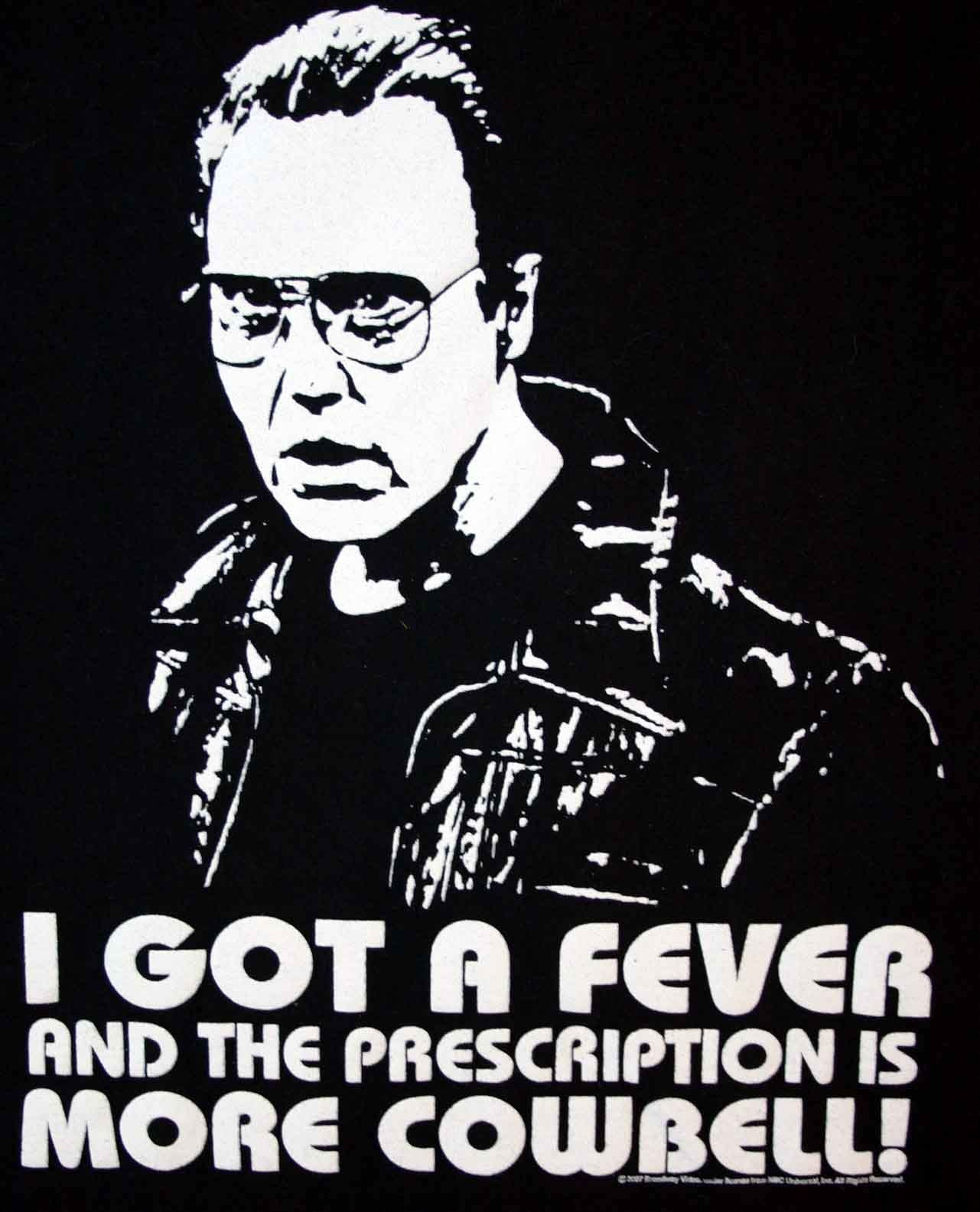 """Christopher Walken Will Farrell """"…More Cowbell """" 