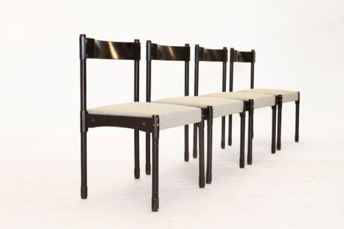 Sedie Antiquariato ~ Set di 4 sedie anni 60 design italiano vintage chairs
