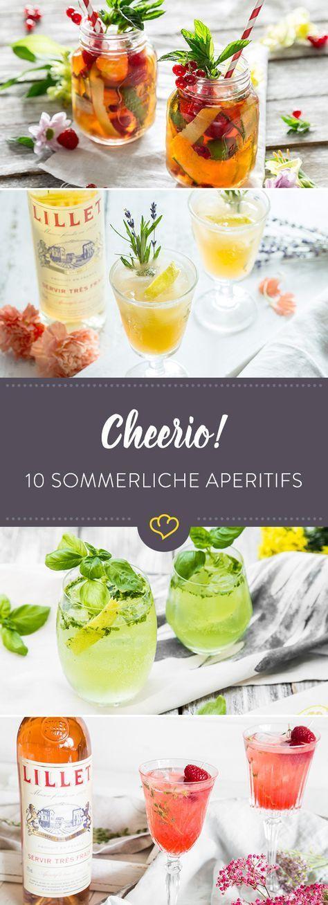 Zehn Aperitif Ideen für deine nächste Sommerparty #cocktaildrinks