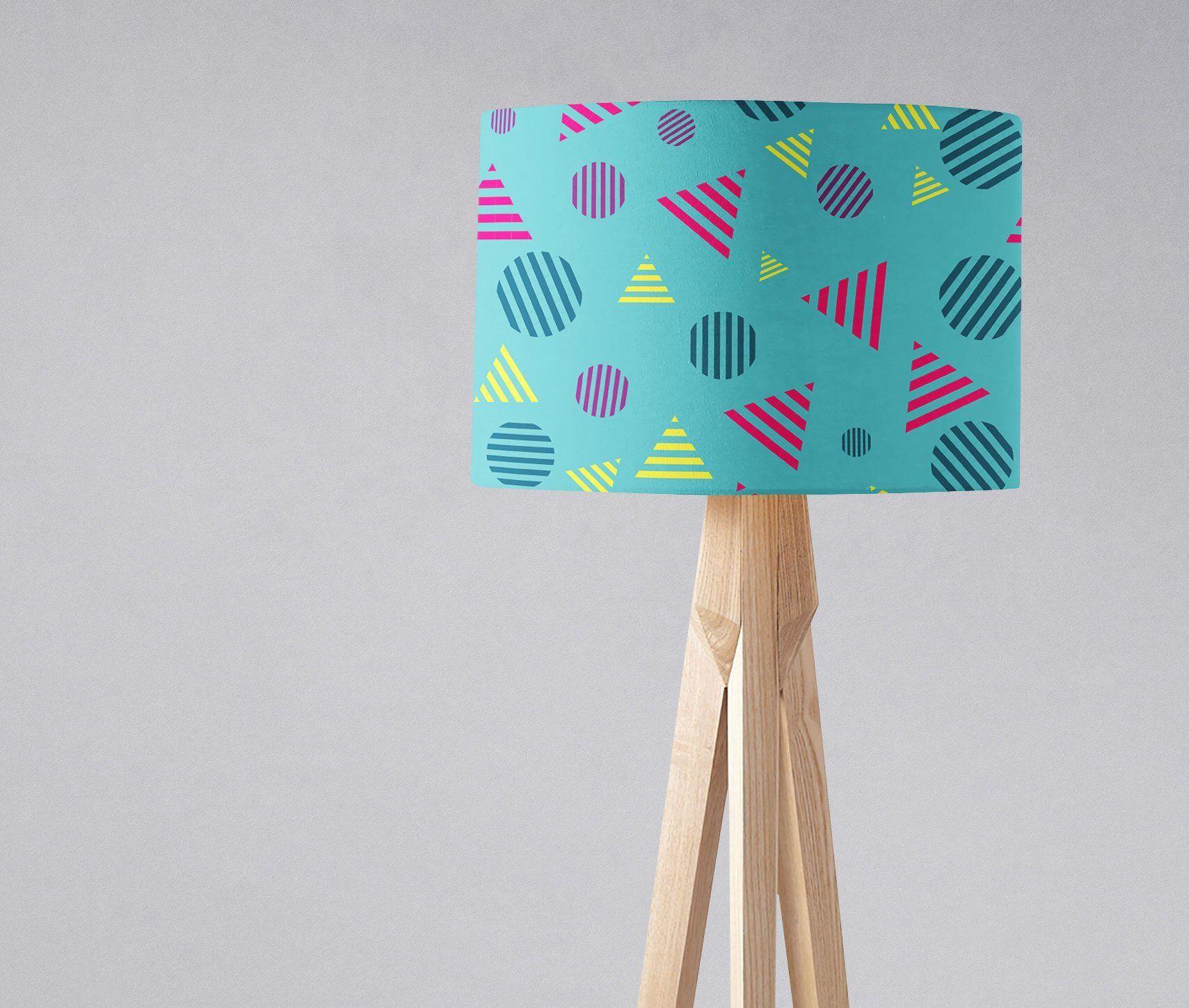 Striped Lampshade Bright Light Shade Modern Lampshades