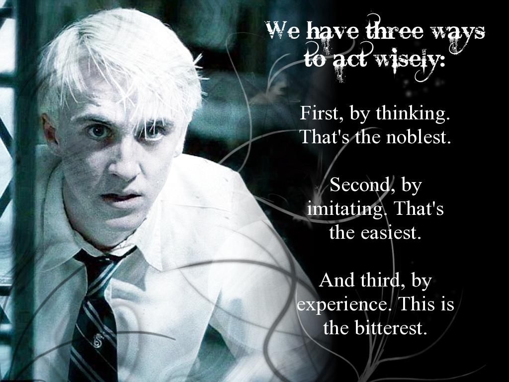 Allysonblack S Page Draco Malfoy Quotes Draco Malfoy Draco Malfoy Imagines