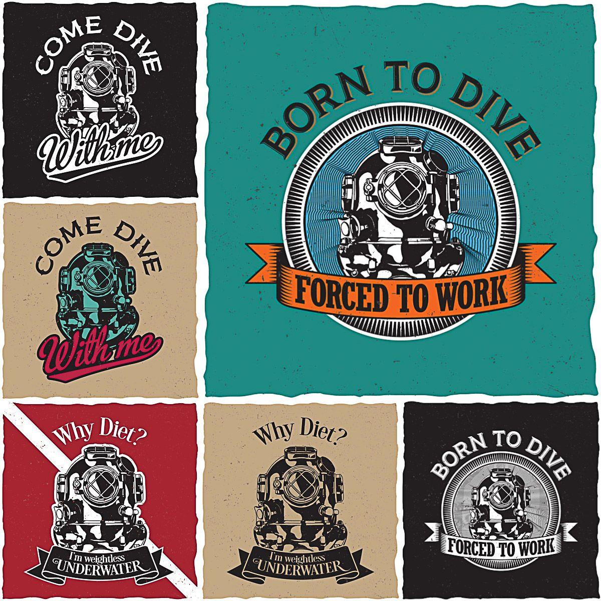 Free t-shirt design - T Shirt Design For Divers Free Print