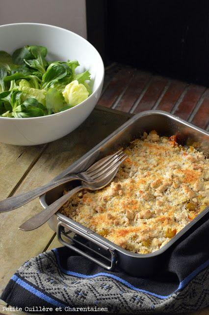 Légumes d'hiver en Crumble // #recette #crumble #légumes