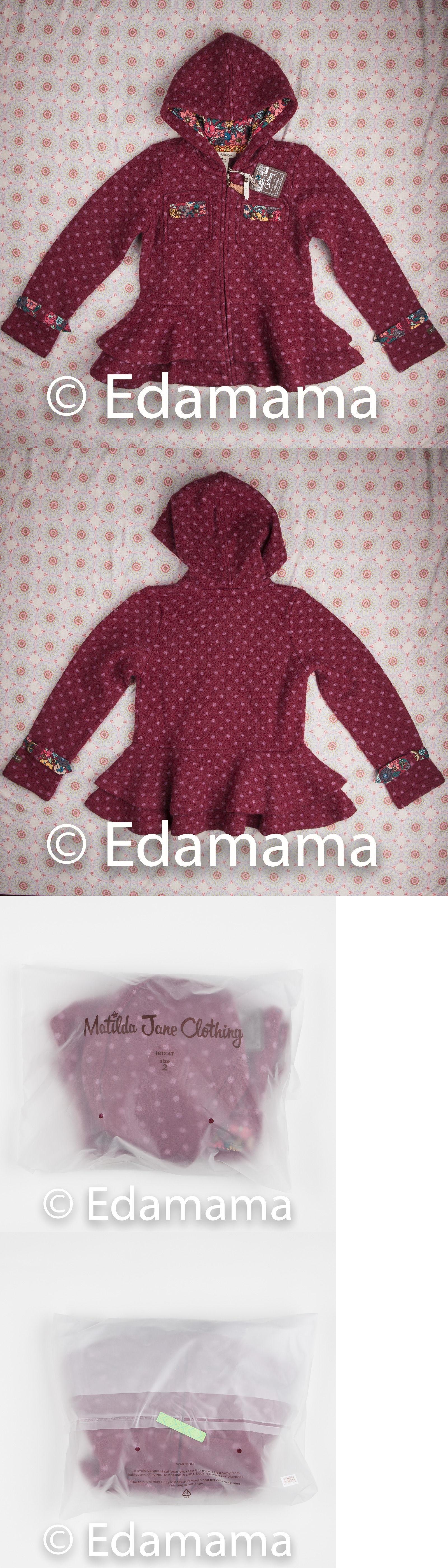 8efa5c7ff Outerwear 147202  Nwt Matilda Jane Devon Coat Friends Forever Girls ...