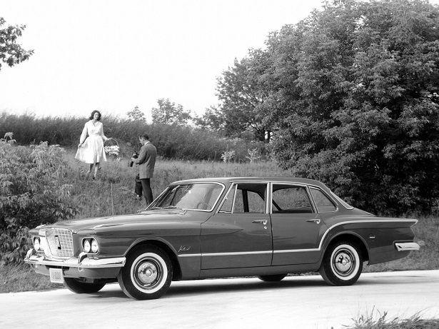 Plymouth Valiant V-200 Sedan (1960).